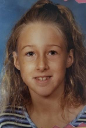 school photo 3rd grade girl